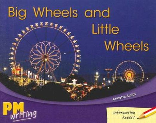 Big Wheels and Little Wheels (PM Red/Yellow) Levels 5, 6