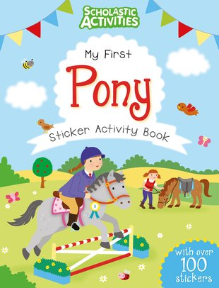 My First Pony Sticker Activity Book
