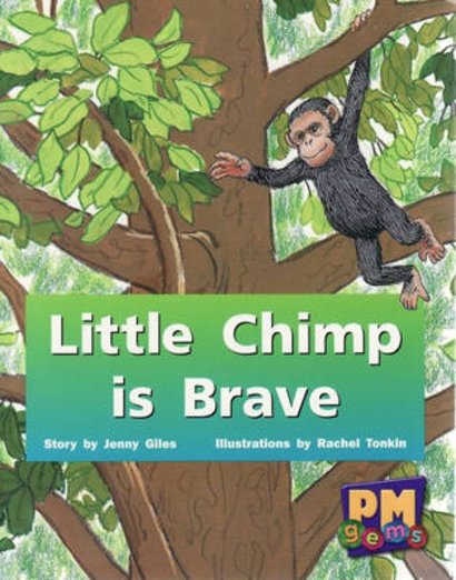 Little Chimp is Brave (PM Gems) Levels 3, 4, 5