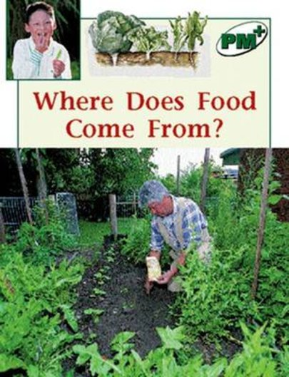 Where Does Food Come From? (PM Plus Non-fiction) Levels 14, 15