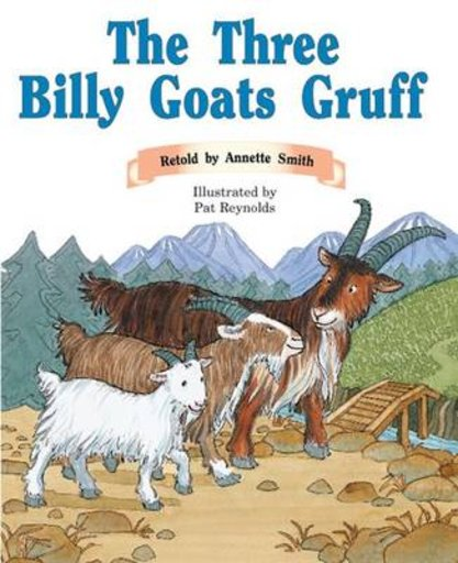 PM Orange: The Three Billy Goats Gruff (PM Traditional Tales and Plays)  Level 16
