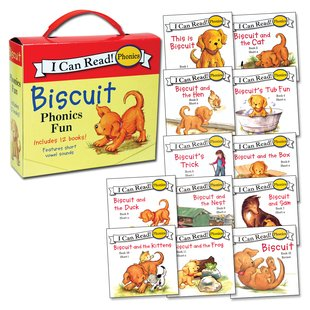 I Can Read! Phonics: Biscuit Phonics Fun x 12