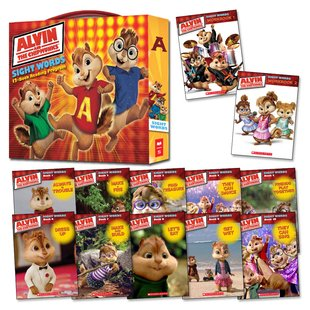 Alvin and the Chipmunks: Sight Words Box Set x 12