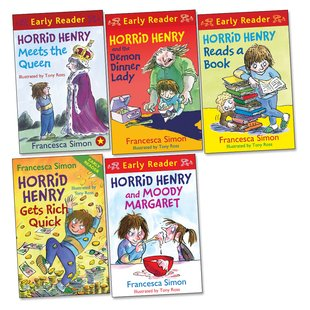 Horrid Henry Early Readers Pack x 5