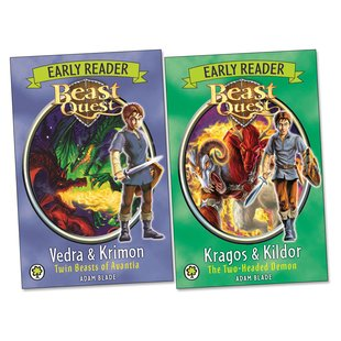 Beast Quest Early Readers Pair