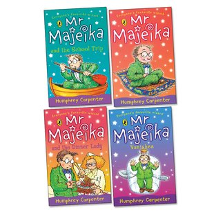 Mr Majeika Pack x 4