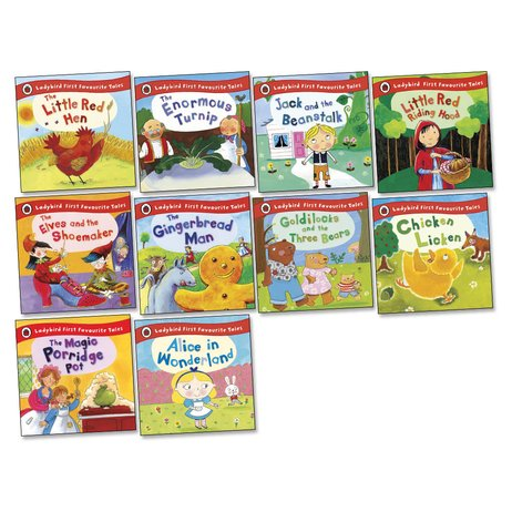 Ladybird First Favourite Tales Pack x 10
