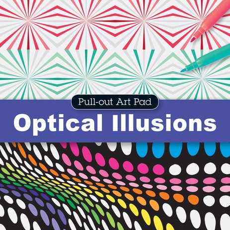 Pull-Out Art Pad: Optical Illusions