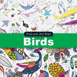 Pull-Out Art Pad: Birds