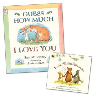 Guess How Much I Love You with FREE You're All My Favourites Mini Edition