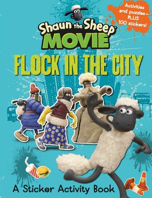 Shaun the Sheep Movie: Flock in the City Sticker Activity Book