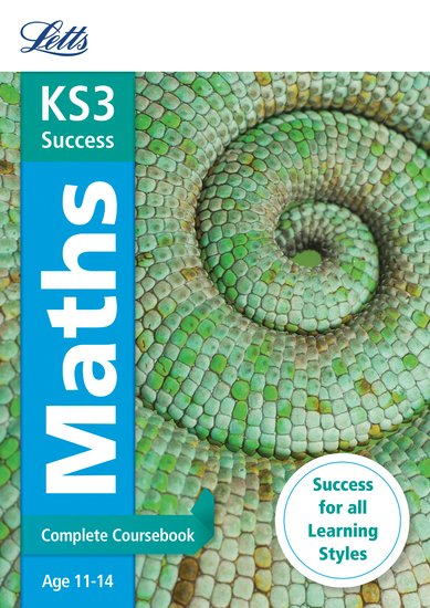 Letts KS3 Success Revision Guide: Maths