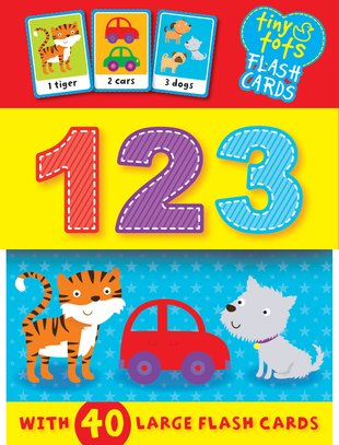 Tiny Tots Flash Cards: 123