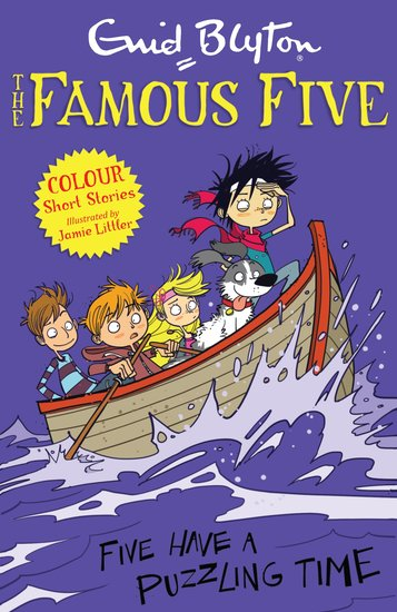 Famous Five Colour Reads: Five Have a Puzzling Time