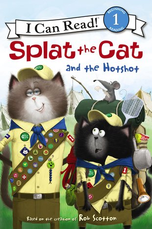 I Can Read! Splat the Cat and the Hotshot