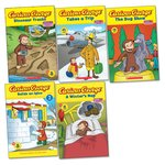 Curious George Explores the Outdoors Pack x 5