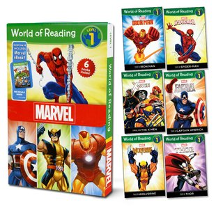 World of Reading: Marvel Superheroes Box Set (Level 1)