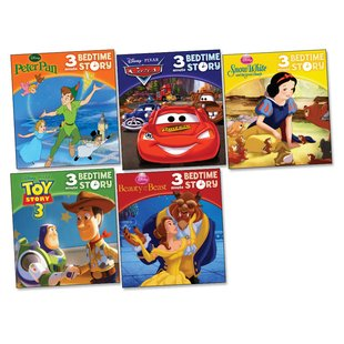 Disney 3 Minute Bedtime Stories Pack