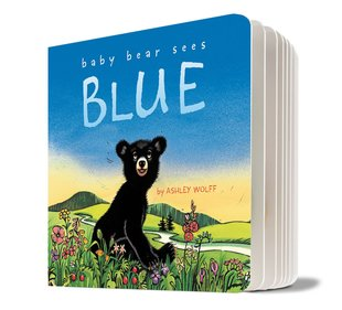 Baby Bear Sees Blue (Board Book)