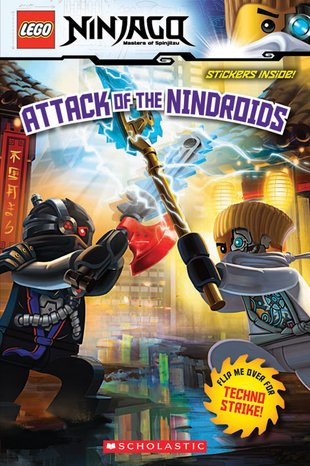 LEGO® Ninjago®: Attack of the Nindroids/ Techno Strike! Flip Book