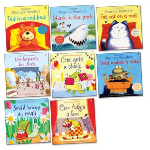 Usborne Phonics Readers Pack x 8