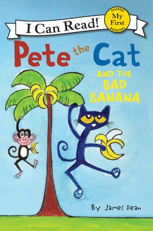 I Can Read! Pete the Cat and the Bad Banana