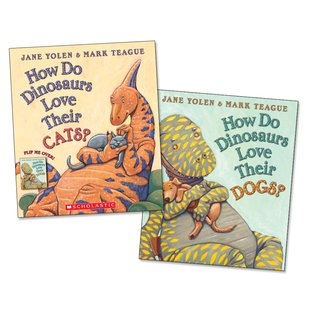 How Do Dinosaurs Love Their Cats and Dogs? Flip Book