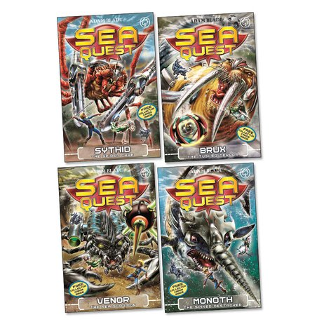 Sea Quest Pack: Series 5 x 4