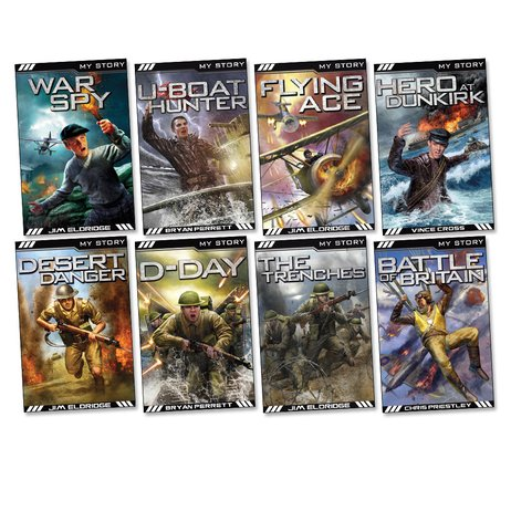 My Story: War Heroes Pack x 8