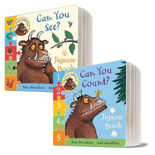 My First Gruffalo: Jigsaw Book Pair