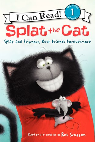 I Can Read! Splat the Cat: Splat and Seymour, Best Friends Forevermore