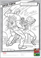 Spider-Man colouring