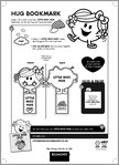 Little Miss Hug Bookmark (1 page)