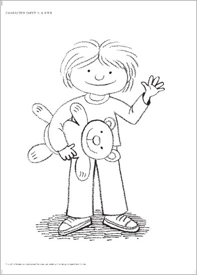 Kipper Coloring Pages