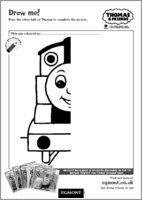 Draw Thomas the Tank Engine