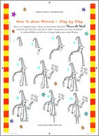Draw Winnie the Witch