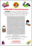 Horrid Henry's Wicked Wordsearch (1 page)