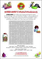 Horridhenrywordsearch act puzz 1267712