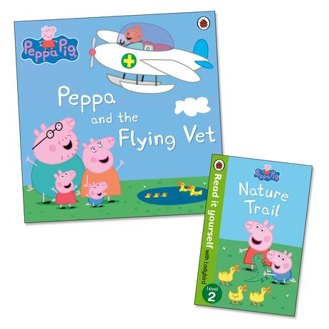 Peppa Pig: Peppa and the Flying Vet with FREE Nature Trail Mini Edition