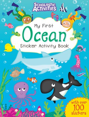 My First Ocean Sticker Activity Book