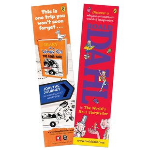 Roald Dahl/Wimpy Kid Bookmark