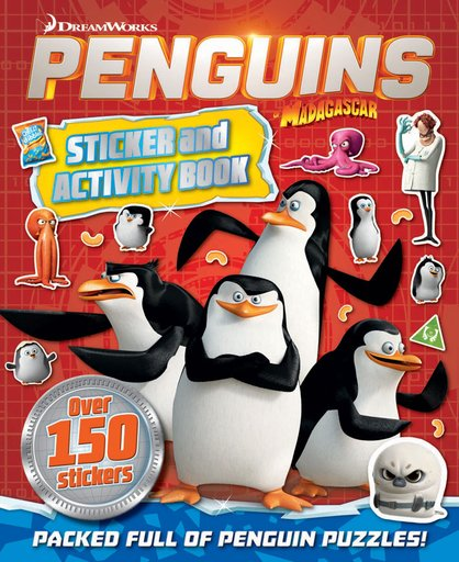 Penguins of Madagascar: Sticker and Activity Book