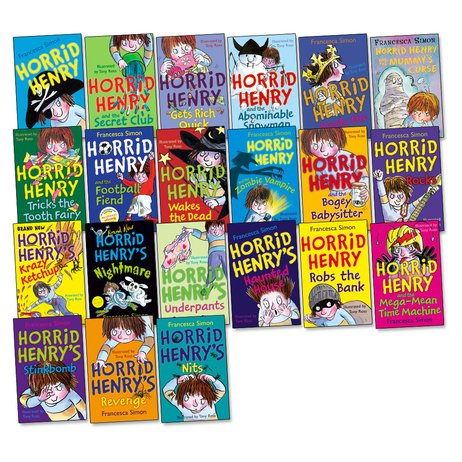 Horrid Henry Pack x 21