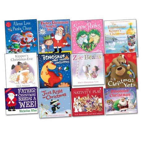 12 Books for Christmas Pack