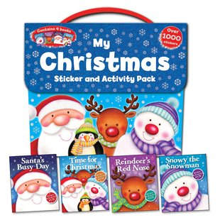 My Christmas Sticker and Activity Pack x 4