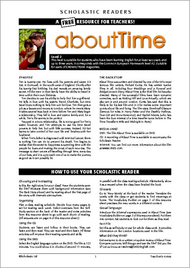 About Time - Resource Sheets & Answers