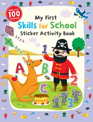 My First Skills for School Sticker Activity Book