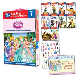 Adventures in Reading: Disney Princess Box Set