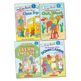 The Berenstain Bears' Reader Pack (Level 1)