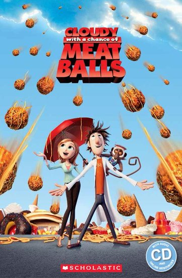 Cloudy with a Chance of Meatballs (Book and CD)